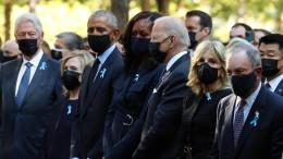 New York gedenkt mit Schweigeminute des 11. September 2001