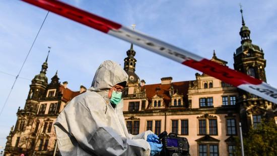 Einbruch in Dresdens Schatzkammer