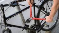 Brachial: Fahrraddiebe werden immer dreister.
