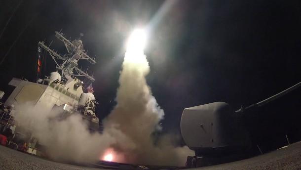 Trump übt Vergeltung für Giftgasangriff in Syrien