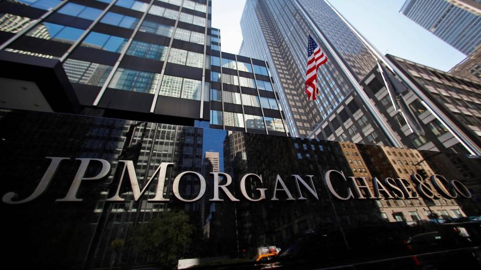 Die Zentrale von JP Morgan Chase in New York