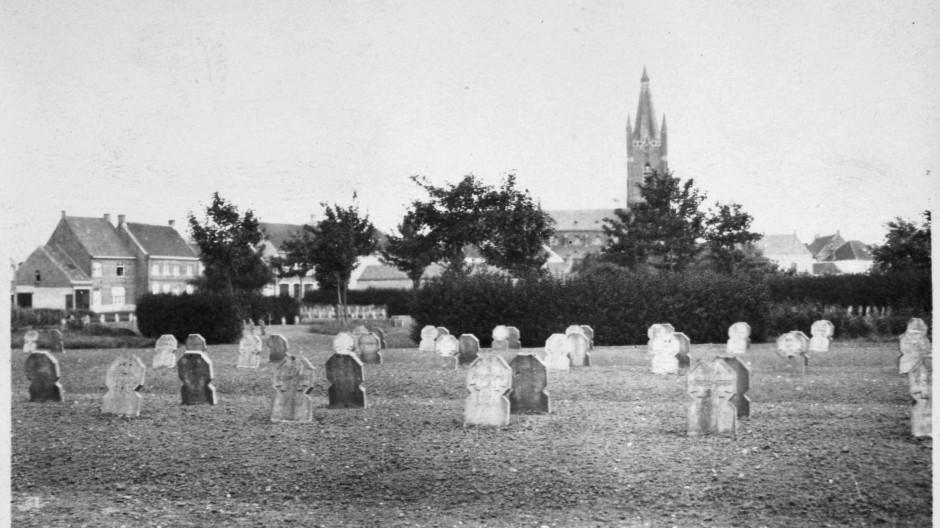 Kriegsfriedhof im belgischen Leffinge: 18 Millionen Menschen verloren im Ersten Weltkrieg ihr Leben.