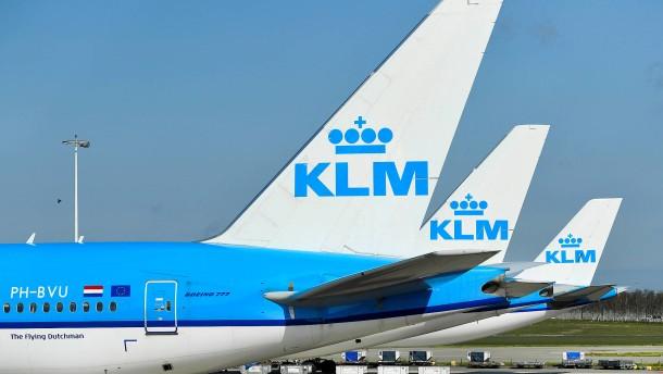 KLM bekommt Milliardenkredit von den Niederlanden