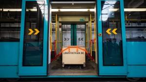 Warentransport per Straßenbahn