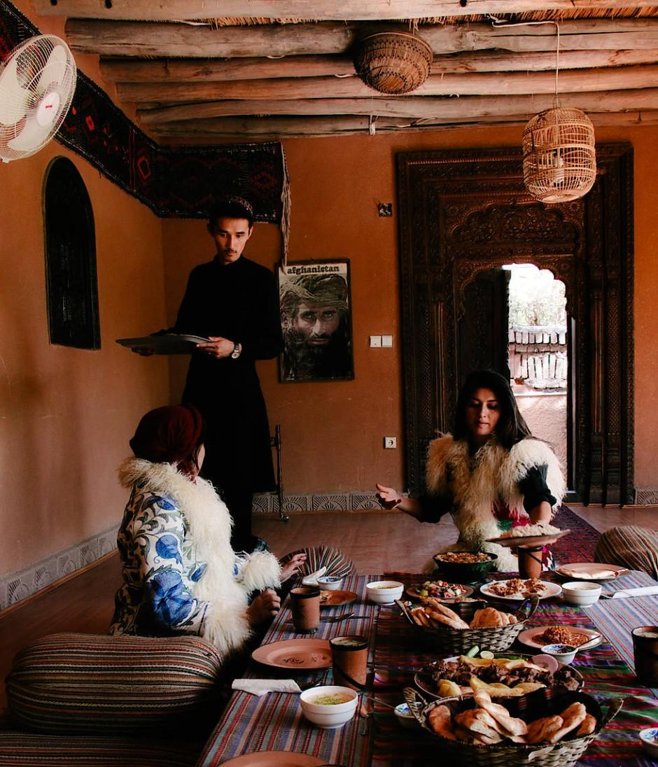 Zazi Vintage will der Welt die Schönheit Afghanistans näher bringen.