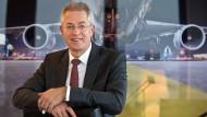 Stefan Schulte (59) leitet seit 2009 den Frankfurter Flughafenbetreiber Fraport und ist Präsident des Flughafenverbands ADV.