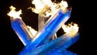 Artgerechte Haltung des olympischen Feuers?