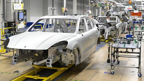 Europas Autowerkstatt kriselt