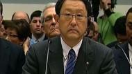 Toyota-Chef stellt sich Kongress