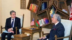 Blinken sagt Afghanistan weiteres Engagement Amerikas zu