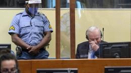 Gericht bestätigt lebenslange Haftstrafe für Mladic