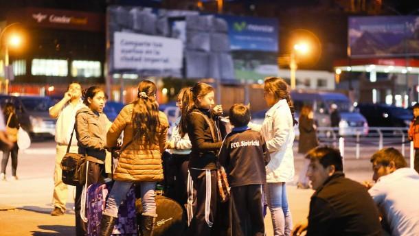 Schweres Erdbeben in Peru