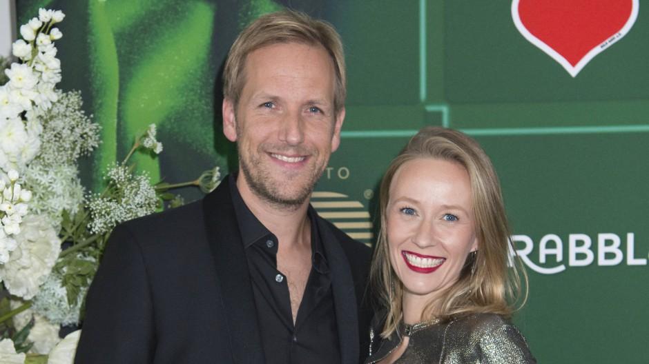 Moderator Jan Hahn mit seiner Freundin Constanze auf einer Veranstaltung 2018.