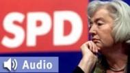 """SPD-Vize-Chefin Renate Schmidt : """"Grüne haben Verfassung nicht verstanden"""""""