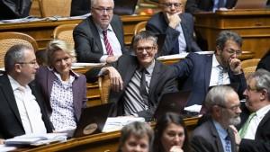 Schweizer Regierung stutzt ihre Wachstumsprognose