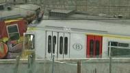 Bis zu 25 Tote bei Zugunglück in Belgien