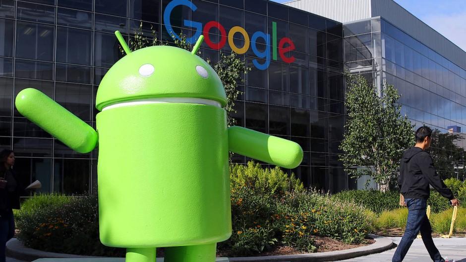 Die EU-Kommission sieht einen Missbrauch der Marktdominanz beim Smartphone-Betriebssystem Android und verhängte daher ein Bußgeld.