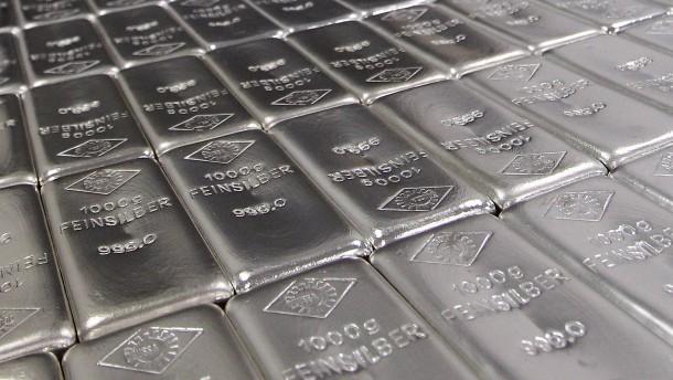 Silbermarkt in Partylaune