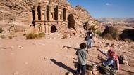 """Was sind """"Frontier""""-Märkte? Antike Stadt Petra in Jordanien"""