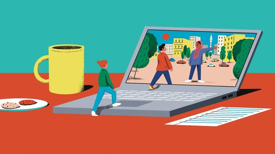 Nicht alles ist online vermittelbar – manches aber, was vorher fern schien, rückt nun in greifbare Nähe.