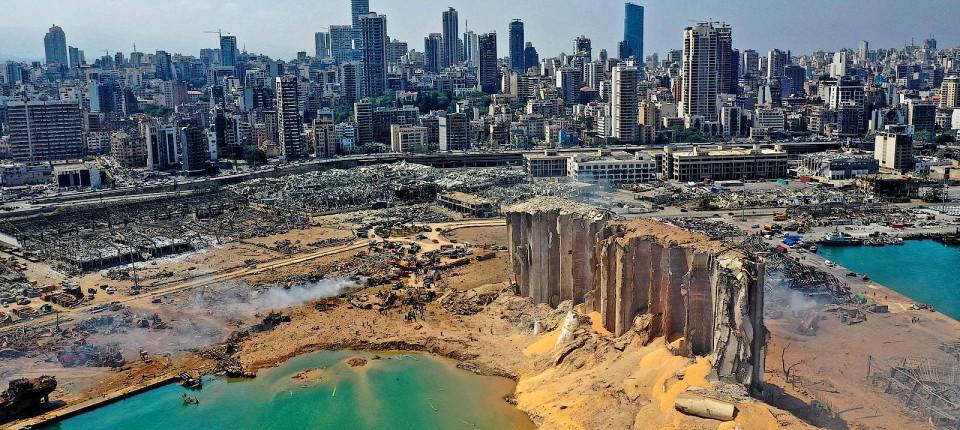 Der Tag danach: Beirut am Mittwoch
