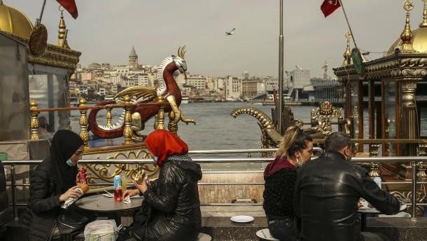 Touristen von hartem Lockdown in der Türkei ausgenommen