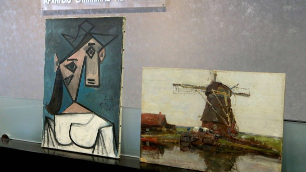 Vor neun Jahren gestohlener Picasso wieder aufgetaucht
