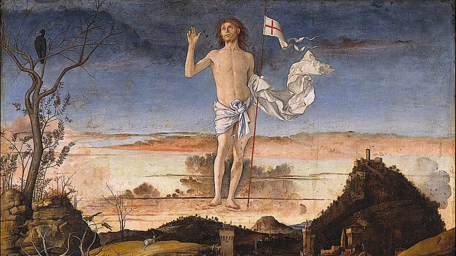 Giovanni Bellini: Die Auferstehung Christi.