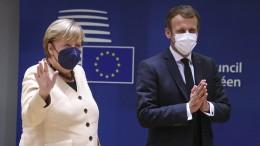 Merkel lehnt Markteingriffe ab