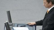 Hartz-IV-Debatte im Bundestag