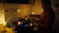 Gedämmte Stimmung: Venezuelas Energiekrise führt immer häufiger zu Stromknappheit.