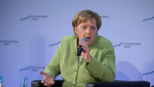 Merkels Interesse an Frankfurt