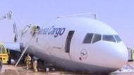 Frachtmaschine stürzt in Riad ab
