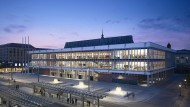 Vorbildhafte Sanierung: Kulturpalast in Dresden