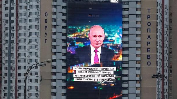 Die Angst des reifen Putin