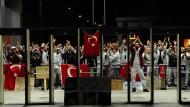Arbeiter des Autoherstellers Fiat streikten 2015 im türkischen Bursa.