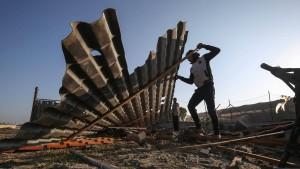 Toter bei israelischem Gegenangriff