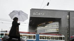 Schweizer Börse setzt Schwergewichte auf Diät