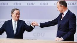 Laschet will Merz in CDU-Team integrieren
