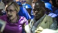 Deutschstämmige Politikerin fordert ANC heraus