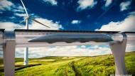 Ab durch die Röhre: Der Hyperloop soll die Mobilität revolutionieren.