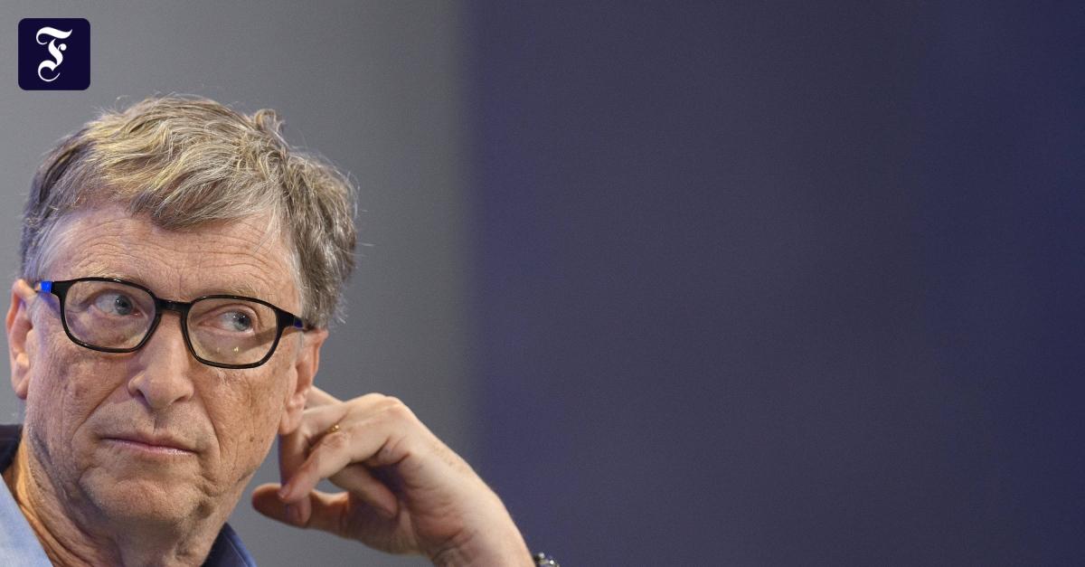 Bill Gates verkauft eine Million Apple-Aktien - FAZ - Frankfurter Allgemeine Zeitung