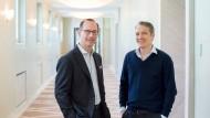 Treffen in der Münchener Königstraße: Allianz-Chef Oliver Bäte, 51, empfängt Oliver Samwer, 43 (rechts).