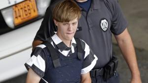 Charleston-Attentäter Dylann Roof zum Tode verurteilt
