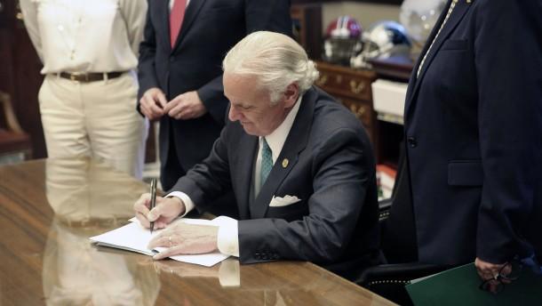 South Carolina erlaubt Hinrichtungen durch Erschießung