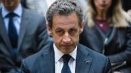 Erneut im Visier der Ermittler: Der ehemalige französische Präsident Nicolas Sarkozy