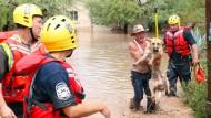 Teile Arizonas unter Wasser