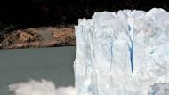 Gletscherschrumpfen.