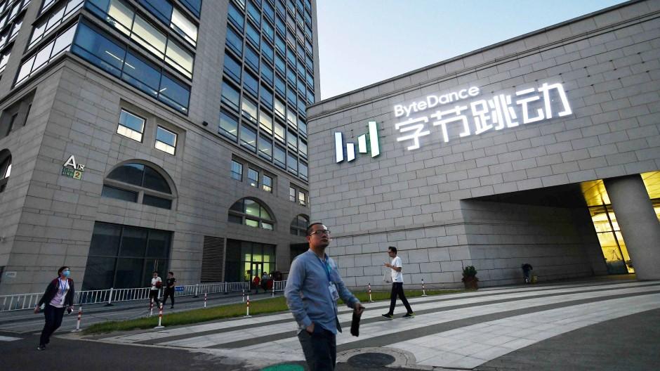 Die Zentrale des Tiktok-Mutterkonzerns Bytedance in Peking