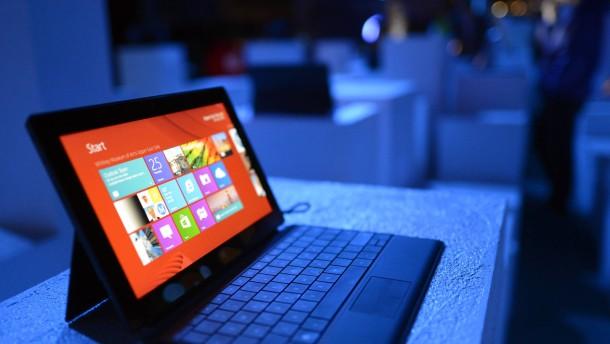 Microsoft bekommt Verkaufseinbruch bei PC zu spüren